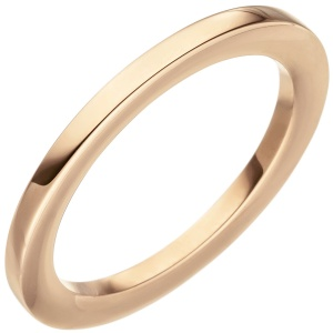 Damen Ring 585 Gold Rotgold Rotgoldring