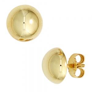 Durchzieh-Ohrhänger 333 Gold Gelbgold Ohrringe zum Durchziehen ca 54,5 mm