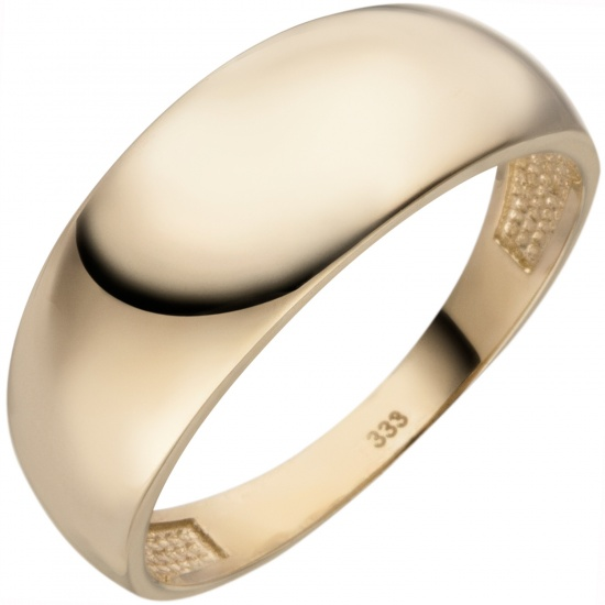 Damen Ring 333 Gold Gelbgold Goldring